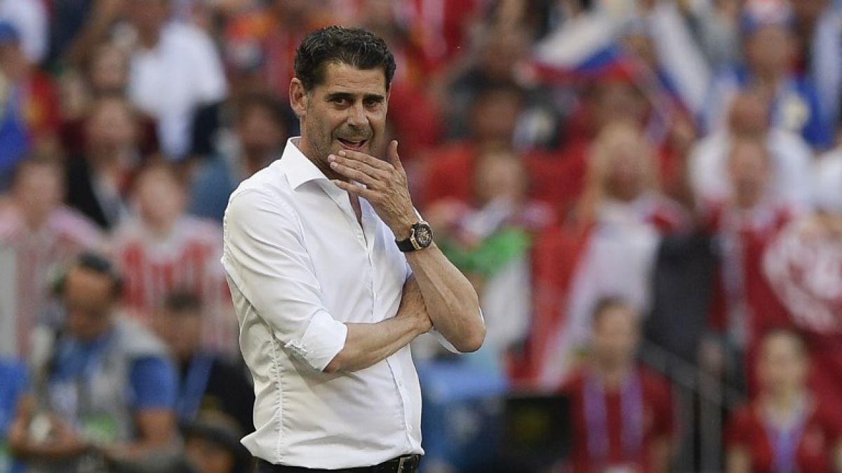 Fernando Hierro no seguirá siendo el técnico de España