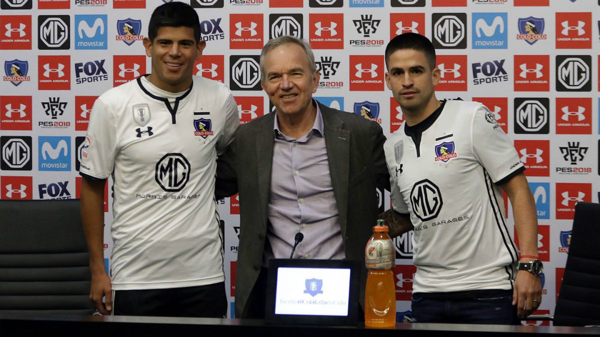 Colo Colo da por cerrados sus fichajes con la presentación de Pavez y Damián Pérez