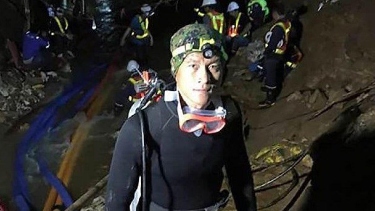 Saman Kunan: La única víctima tras el rescate de los 13 de Tailandia