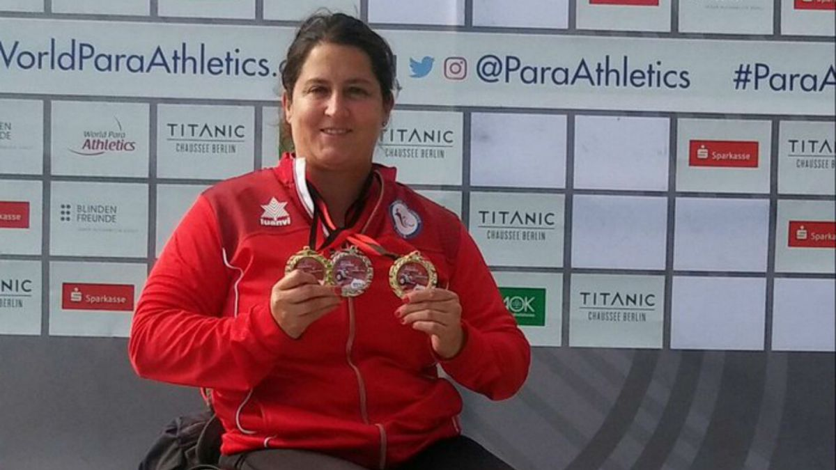 Atleta paralímpica Francisca Mardones es elegida deportista del mes de junio