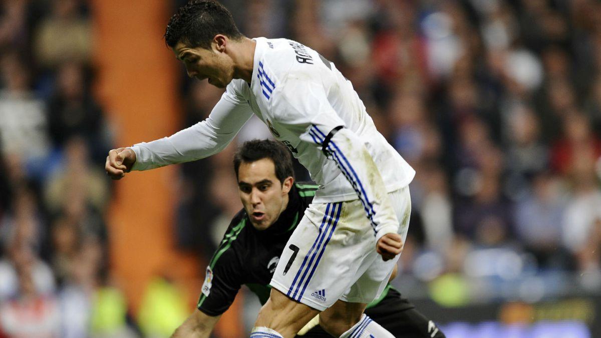 [VIDEO] El polémico gol de Cristiano Ronaldo en el Real Madrid que involucra a Claudio Bravo