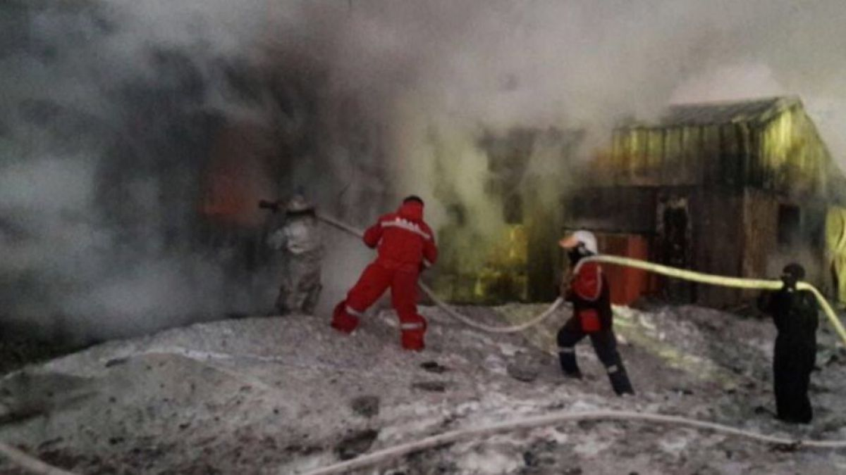 [VIDEO] Incendio afectó a la base chilena en la Antártica