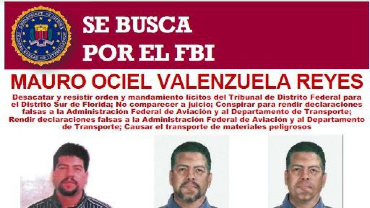 FBI reitera llamado a entregar información de chileno buscado por justicia de EEUU