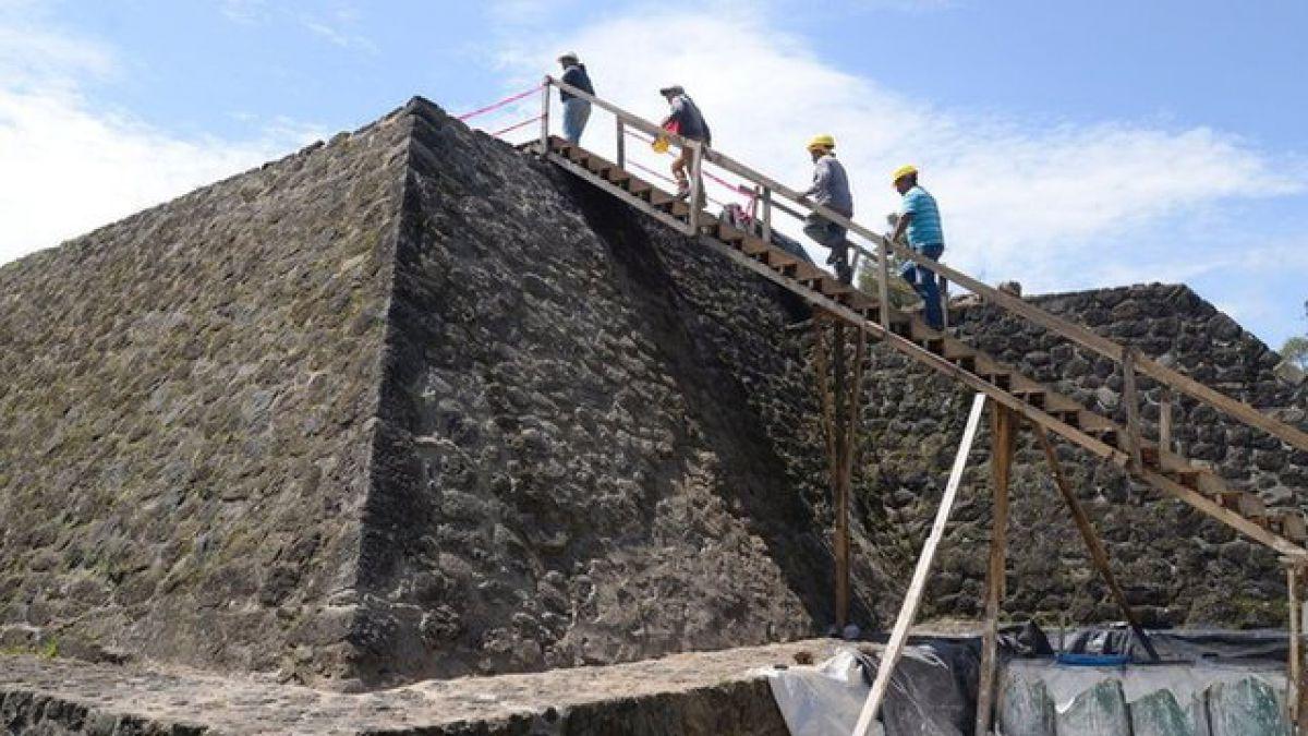 El inesperado hallazgo en una pirámide de México tras el devastador terremoto de septiembre de 2017