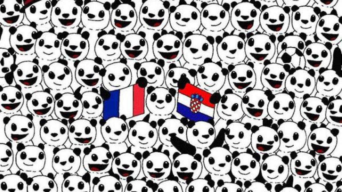 El nuevo desafío mundialero de Dudolf: ¿Puedes encontrar el balón entre los pandas?