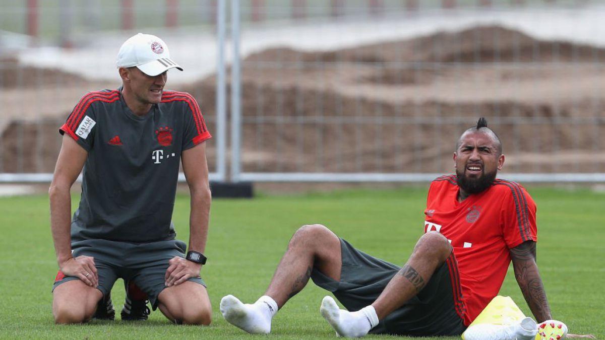 [FOTO] celebra el Bayern: Buenas noticias para Arturo Vidal en Alemania