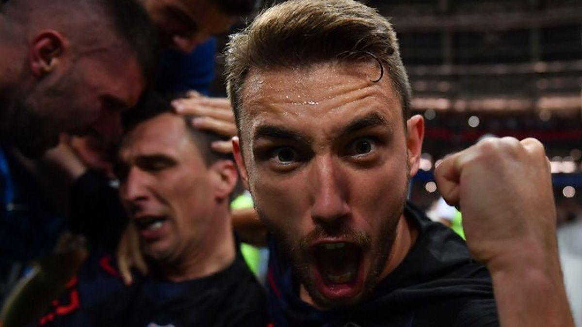[FOTOS] Las mejores tomas del fotógrafo que fue arrollado por los croatas tras el segundo gol
