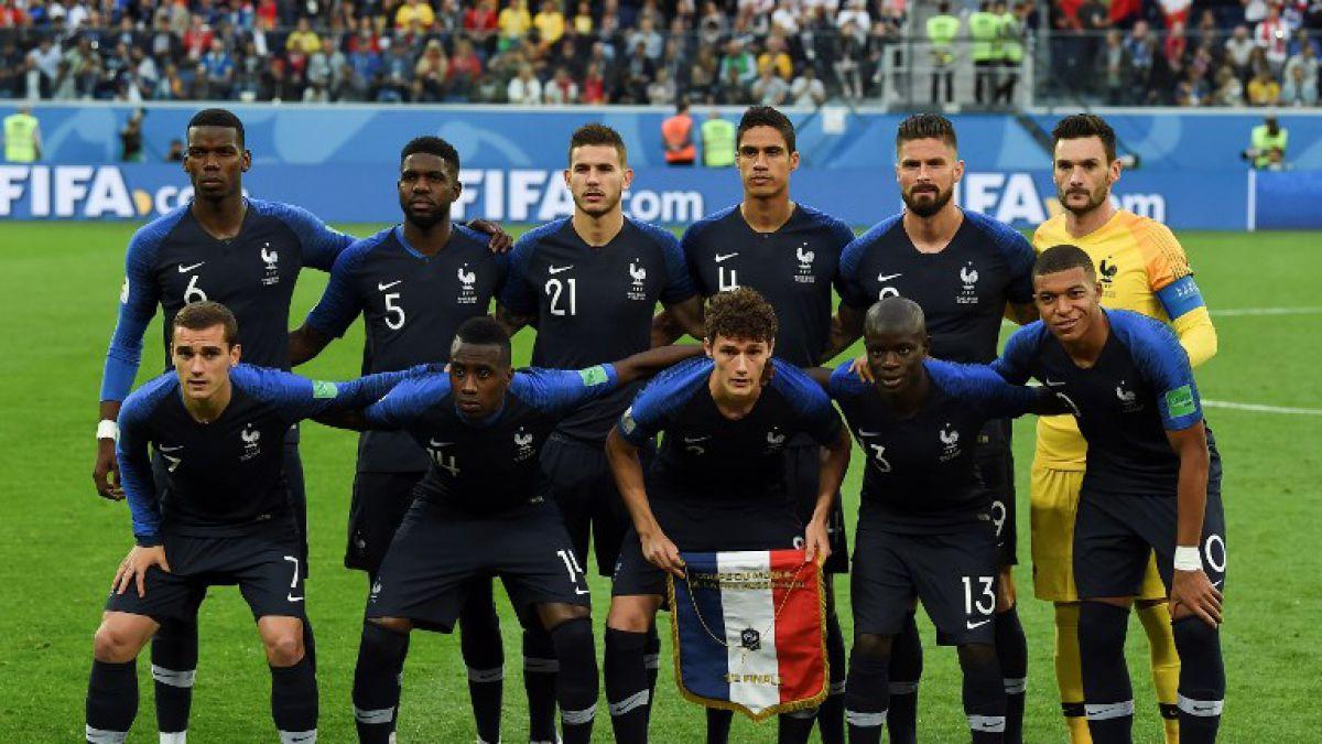 ¿Mufa?: Nike ya fabrica camisetas de Francia con 2 estrellas antes de la final contra Croacia
