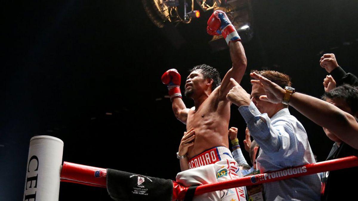[FOTOS] Manny Pacquiao vuelve a lo más alto del boxeo recuperando el cinturón mundial peso wélter