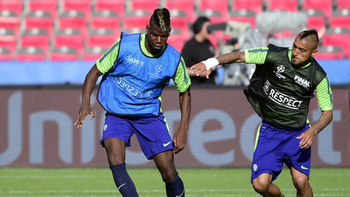 Pogba recordó a Arturo Vidal tras la obtención de la Copa del Mundo con Francia