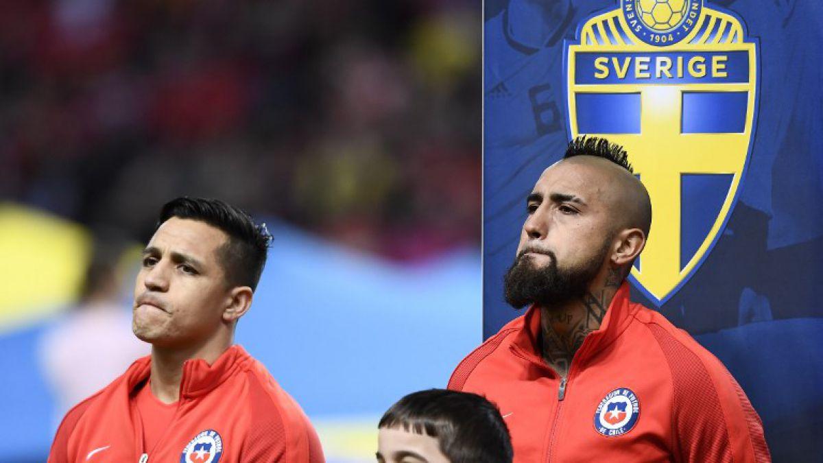 Choque de chilenos: confirman partido entre equipos de Arturo Vidal y Alexis Sánchez