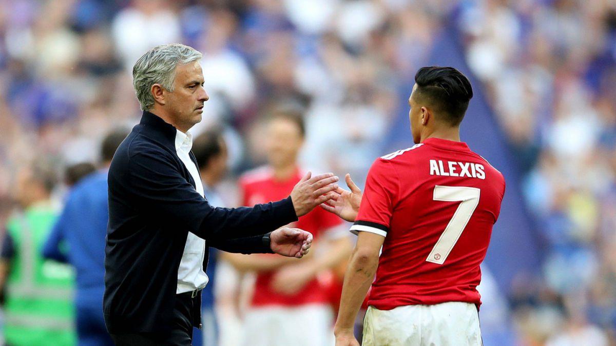 El recado que le envió José Mourinho a Alexis Sánchez