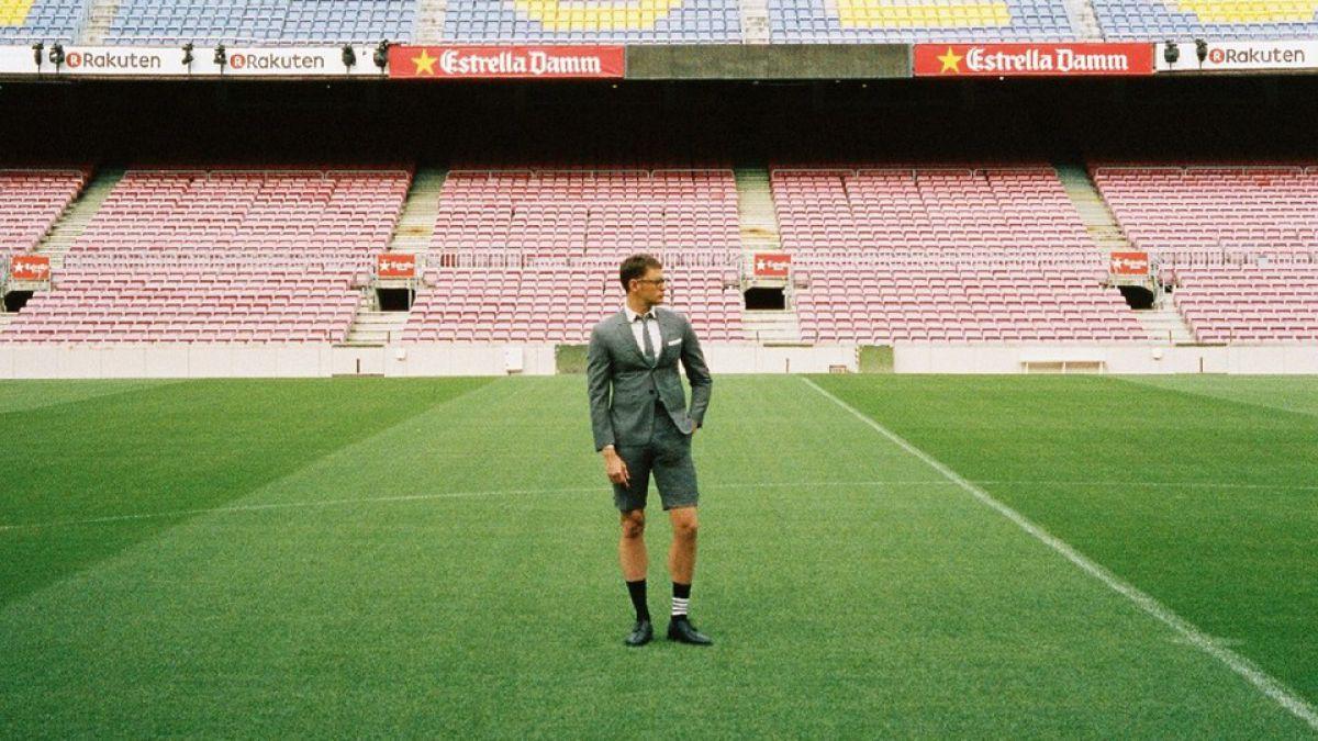 """[FOTOS] La moda de los """"trajes cortos"""" que lucirán Lionel Messi y sus compañeros en FC Barcelona"""