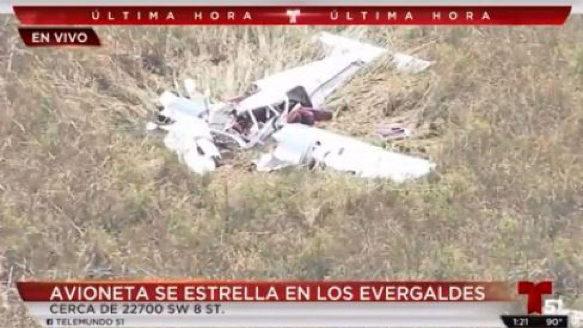 Tres muertos en la Florida tras chocar dos avionetas