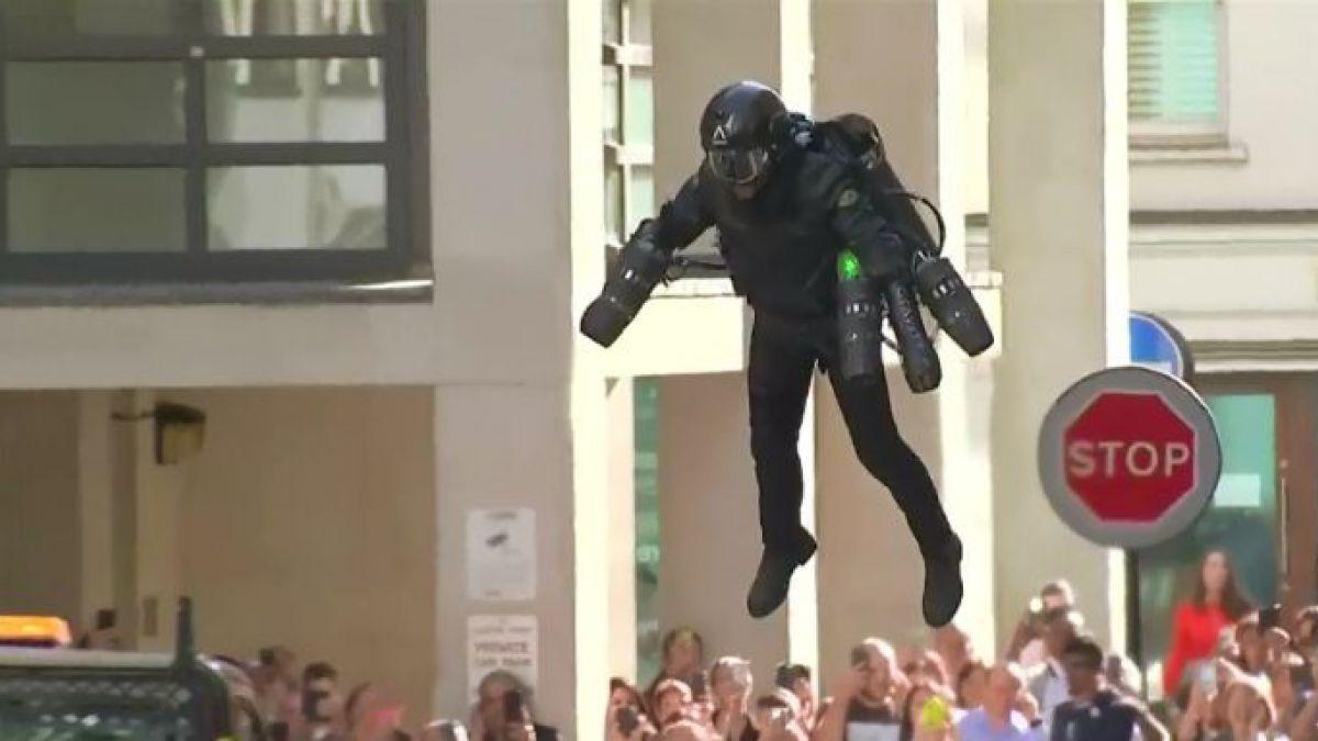 Con este traje a reacción ya puedes ser Iron Man