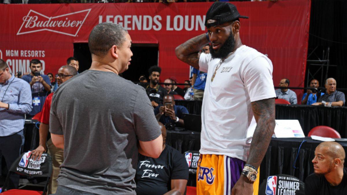 """[VIDEO] Su """"peor enemigo"""" entre los compañeros con que LeBron buscará ser campeón en los Lakers"""