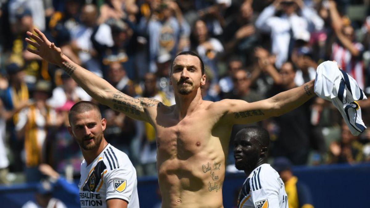 Enésima 'sobrada' de Zlatan Ibrahimovic para volver a ser noticia en EEUU