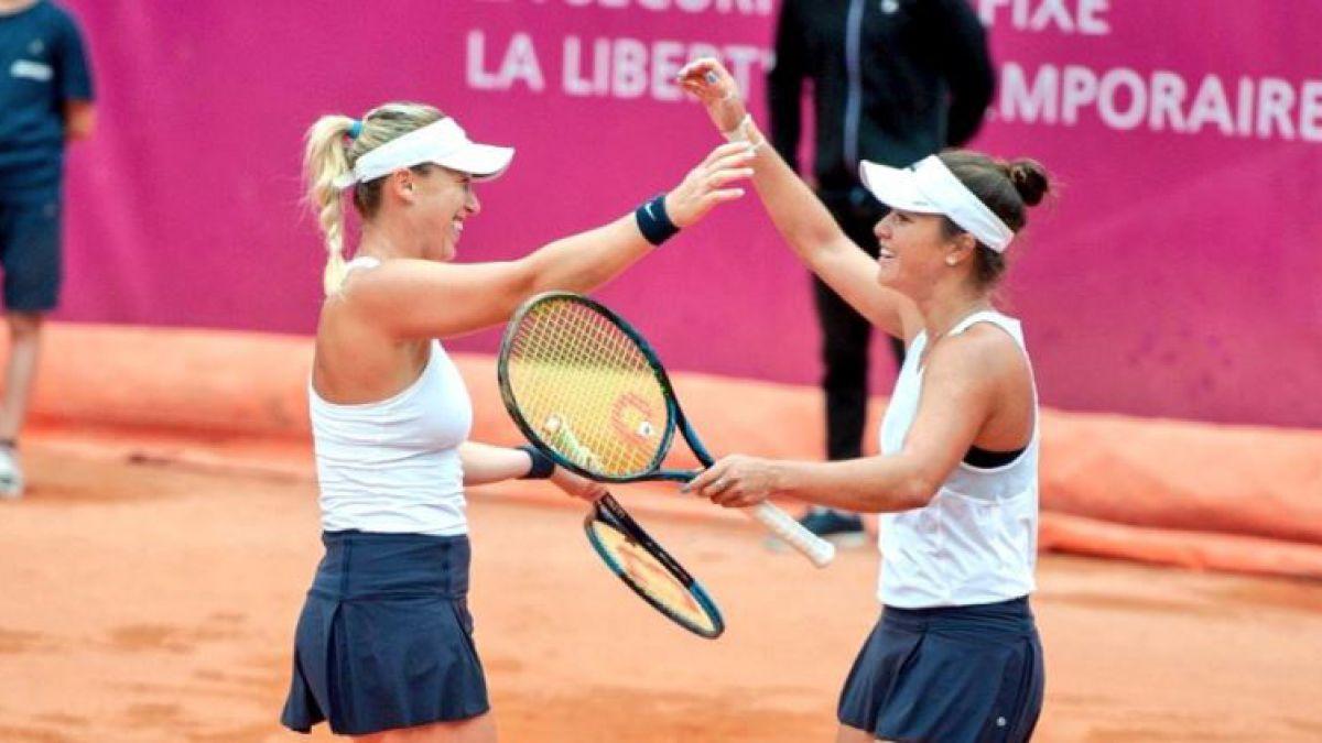 Alexa Guarachi hace historia tras ganar final de dobles del WTA de Gstadd
