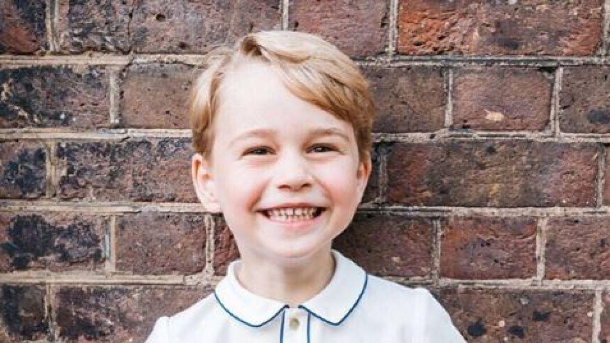 Familia Real comparte imágenes del cumpleaños del Príncipe George ...