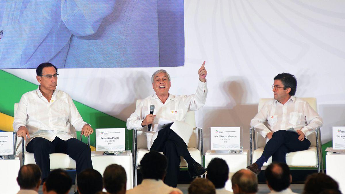 Piñera comparó al presidente del Banco Interamericano de Desarrollo con un perro
