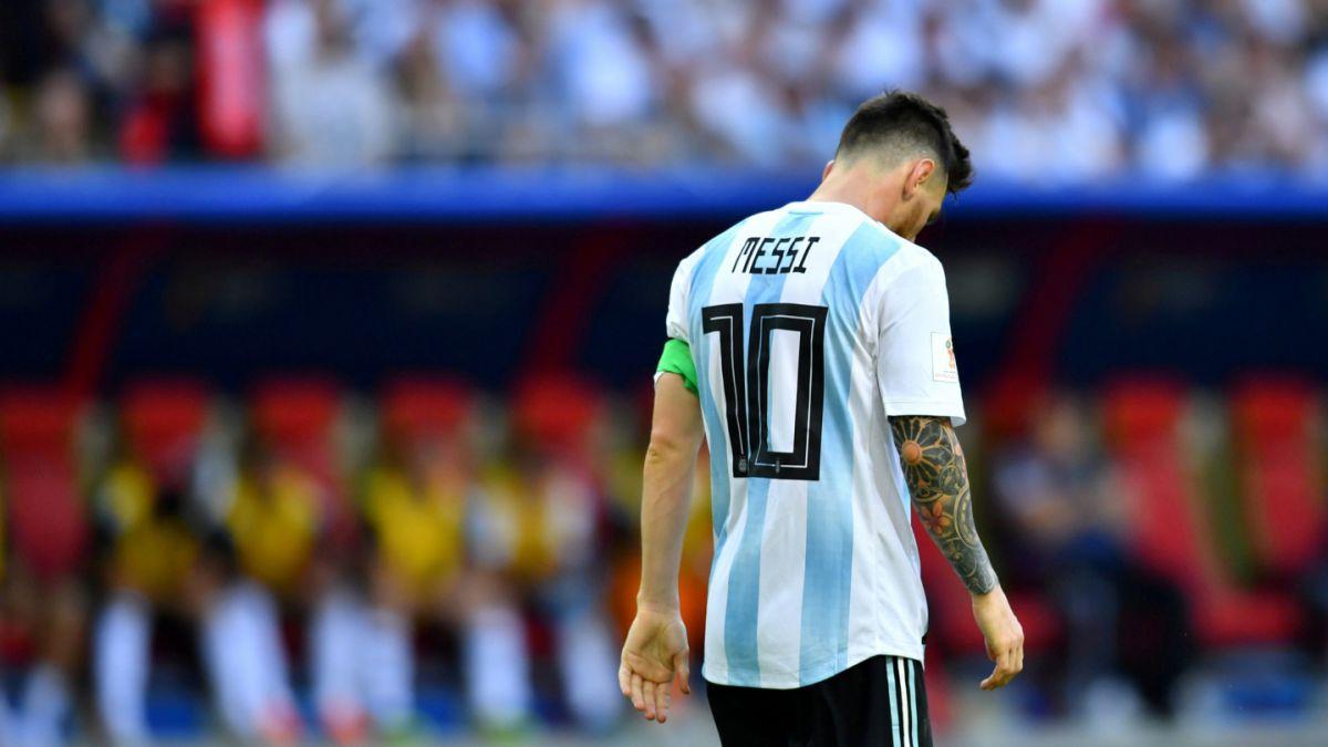 Resultado de imagen para Fútbol: Messi estará ausente de selección argentina