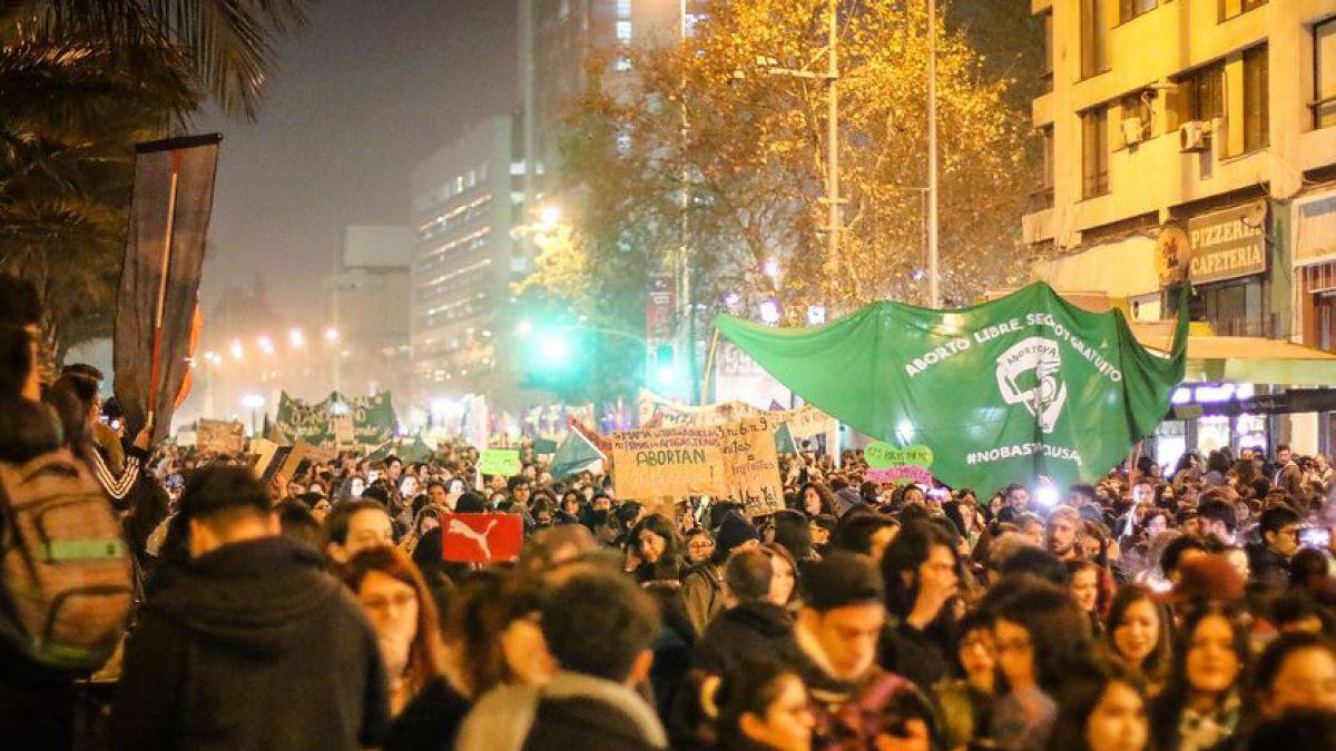 Deploran agresiones en Chile contra marcha a favor de aborto