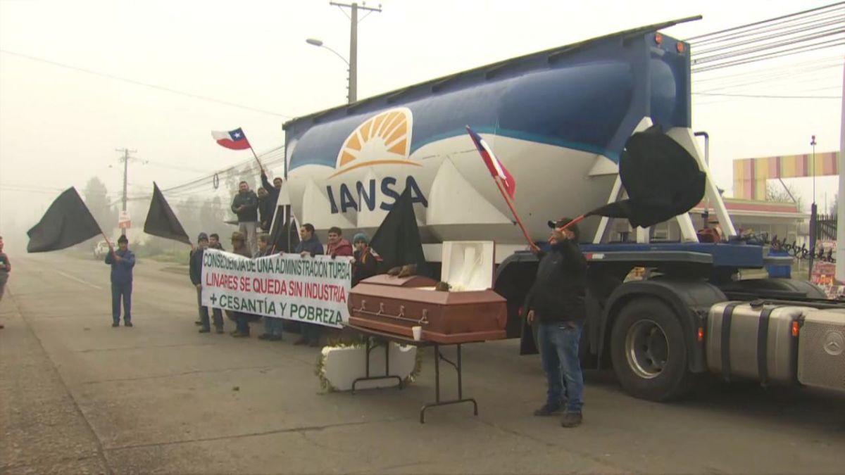 [VIDEO] Piñera y cierre de Iansa en Linares: Indap va a ayudar a los productores de remolacha