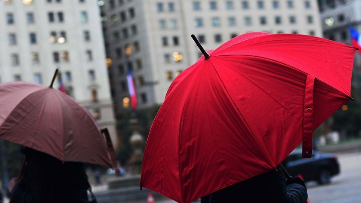 ¿Cuándo comenzará la lluvia en la Región Metropolitana?