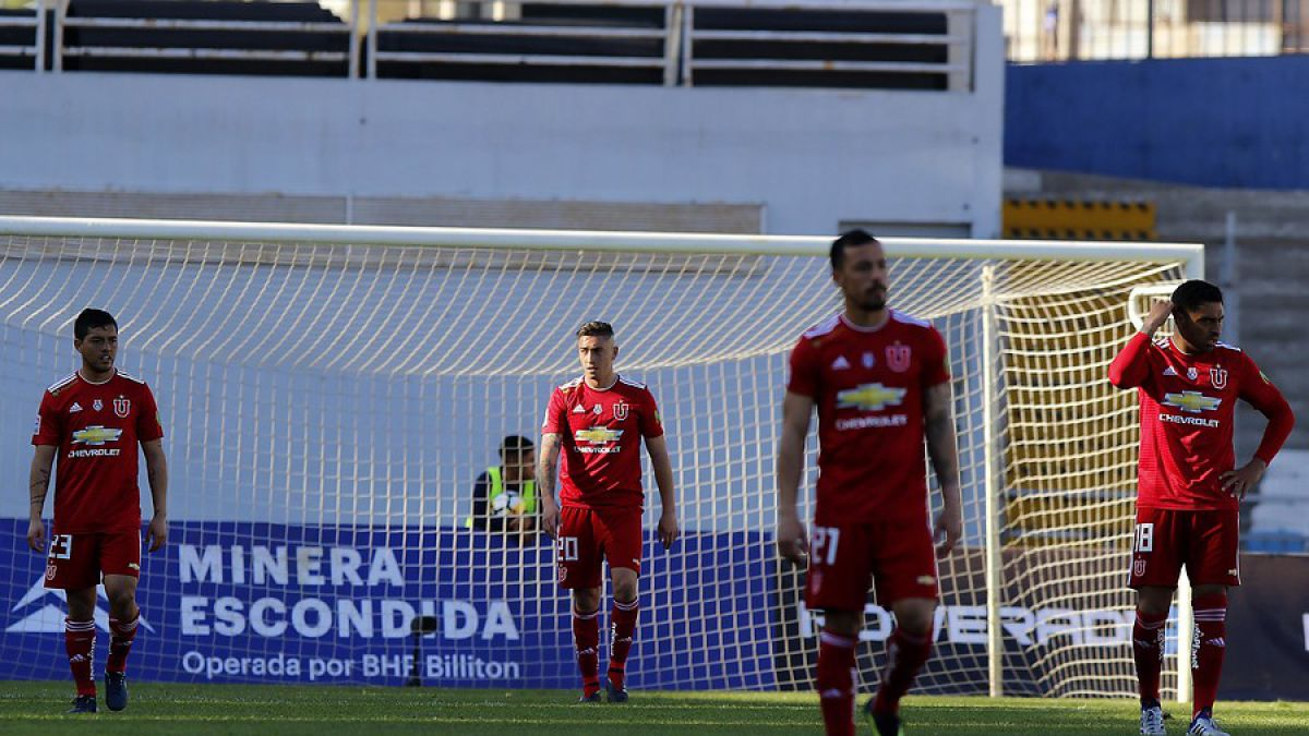La U cae por goleada frente a Antofagasta y extiende su mal momento