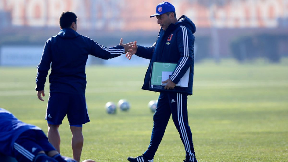 [VIDEO] Universidad de Chile entrena en el CDA sin Mauricio Pinilla
