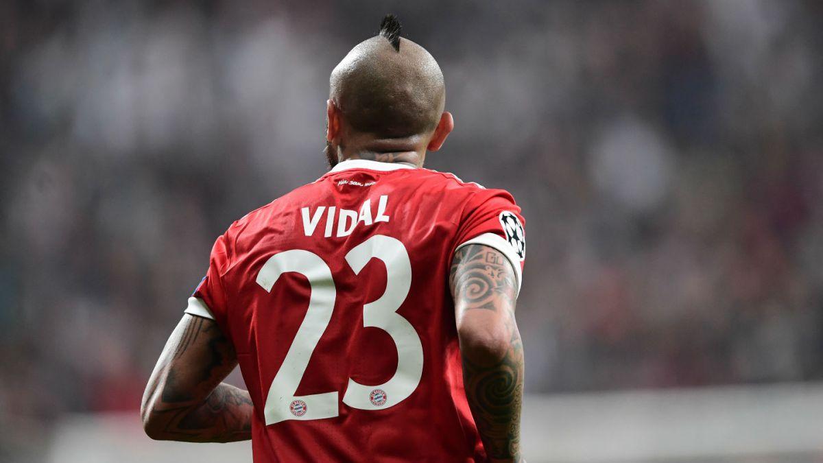 [FOTOS] ¿Serán estas las últimas imágenes de Arturo Vidal con el Bayern Munich?