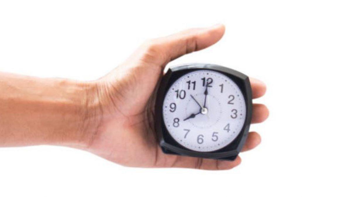 Reloj y cambio de hora