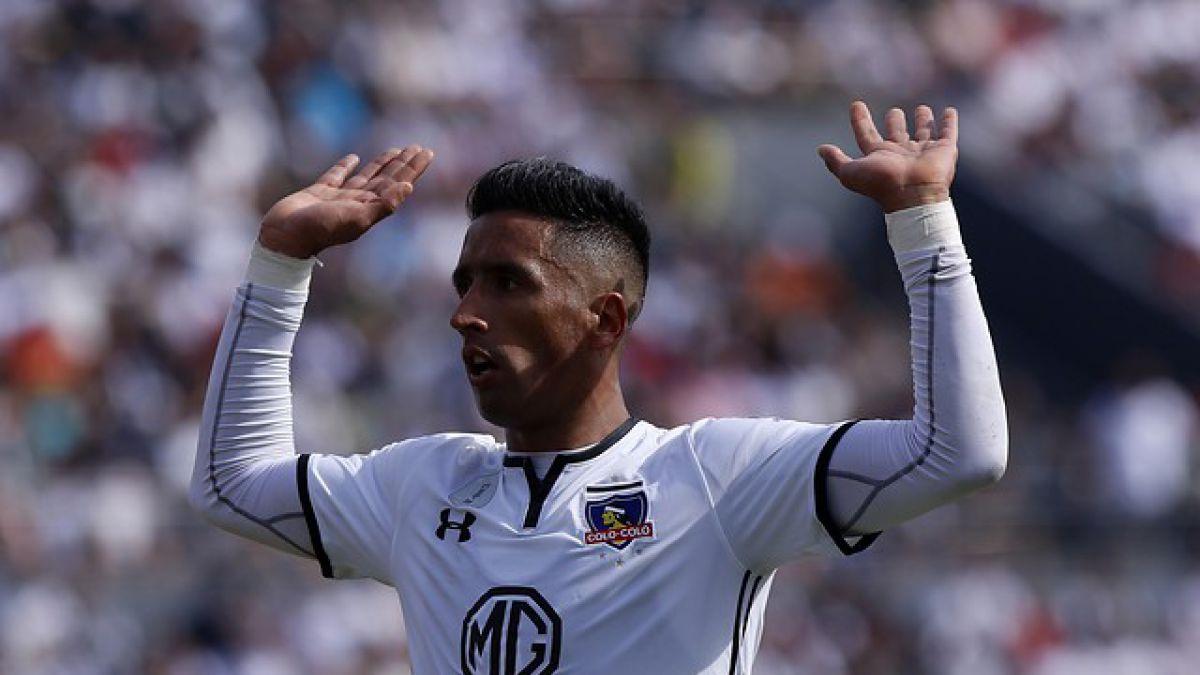 Lucas Barrios se despide de los hinchas de Colo Colo