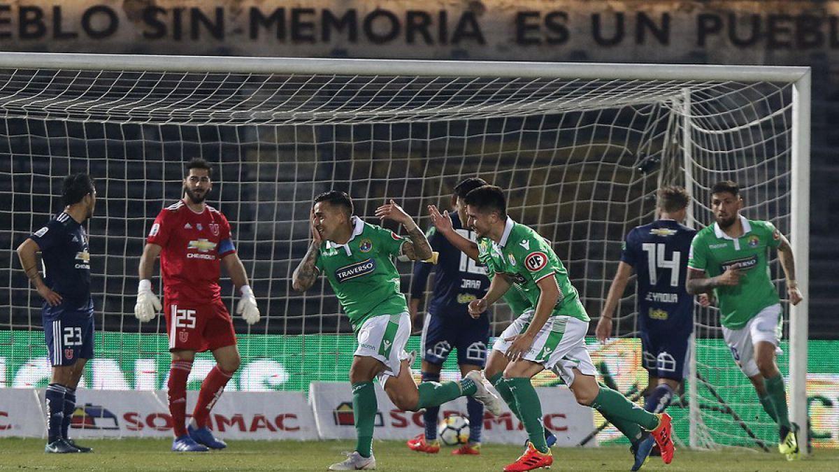 La U no levanta cabeza y pierde ante Audax Italiano en el Estadio Nacional