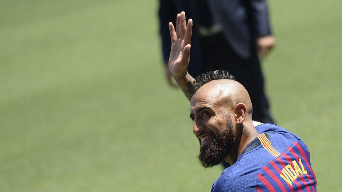 Arturo Vidal: Llegar al Barcelona es un escalón mucho más grande que el Bayern Munich