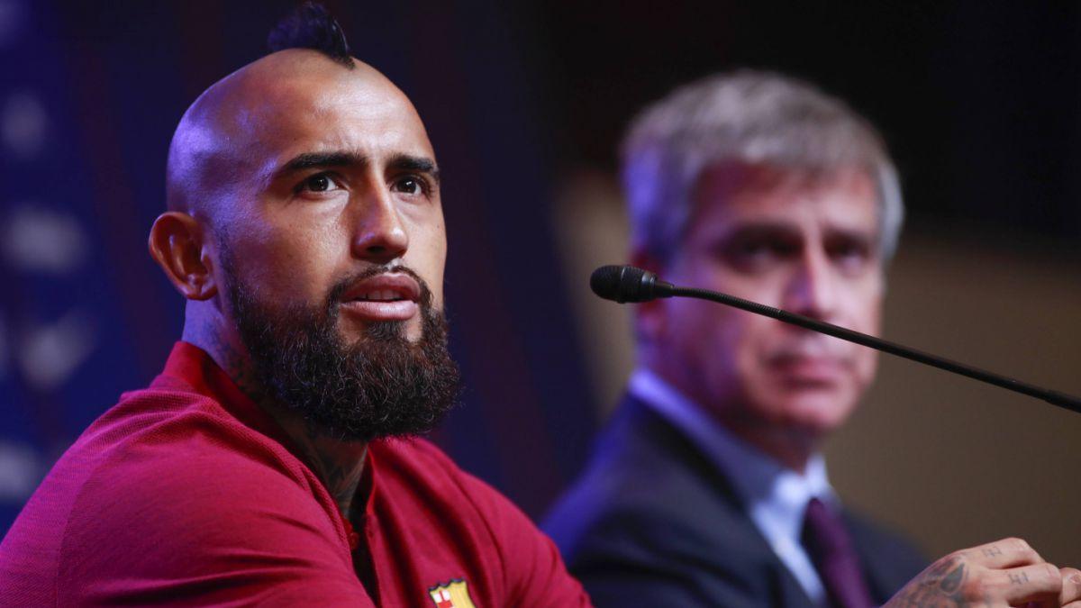 La millonaria cláusula de salida que tiene Arturo Vidal en FC Barcelona