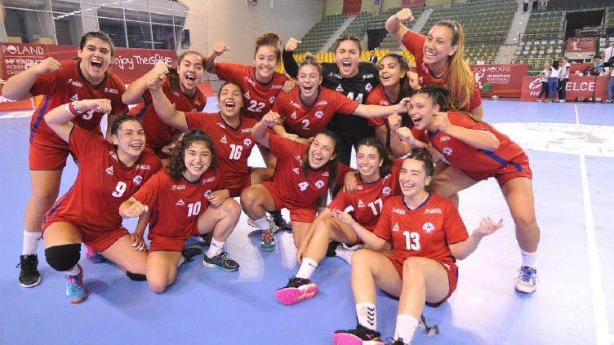"""""""Lobitas"""" debutan con triunfo sobre Egipto en Mundial Juvenil de balonmano en Polonia"""