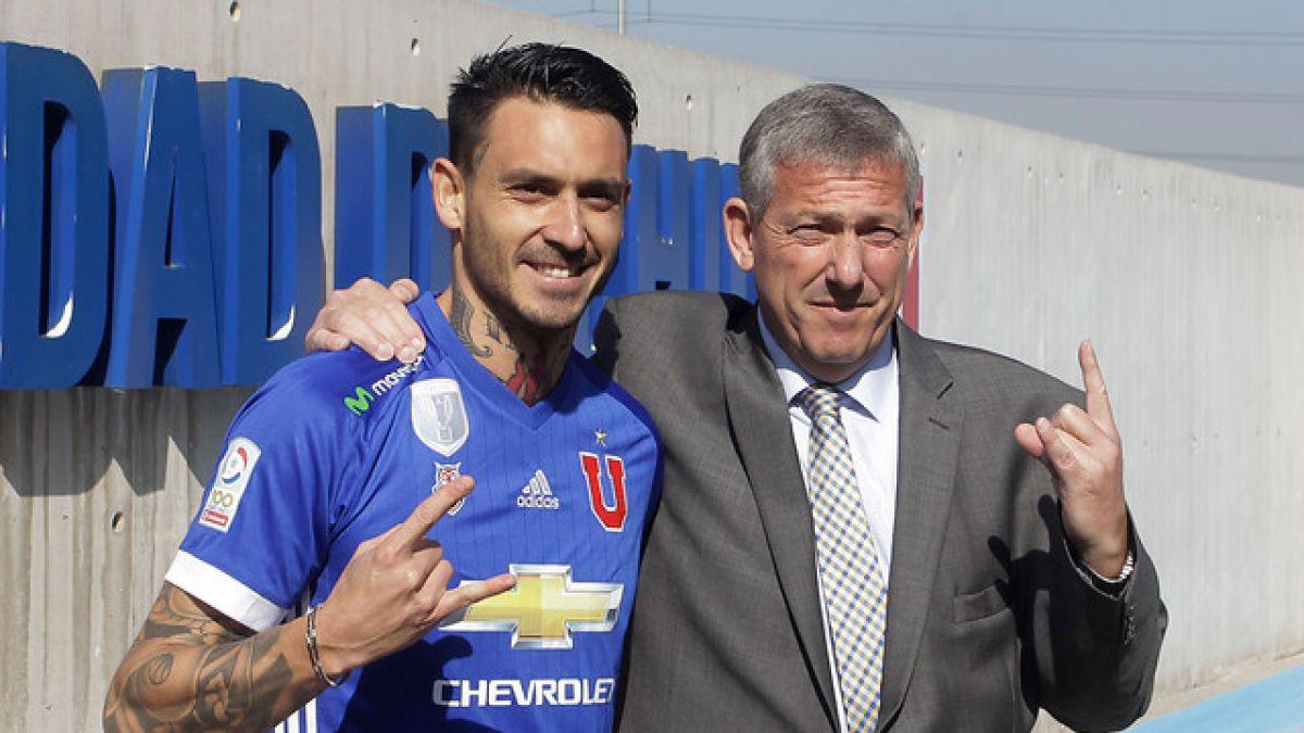 Fijan fecha para primer encuentro entre Mauricio Pinilla y Azul Azul tras demanda del delantero