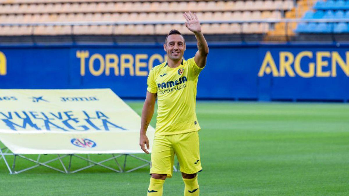 [VIDEO] La mágica presentación de Santi Cazorla en el Villarreal
