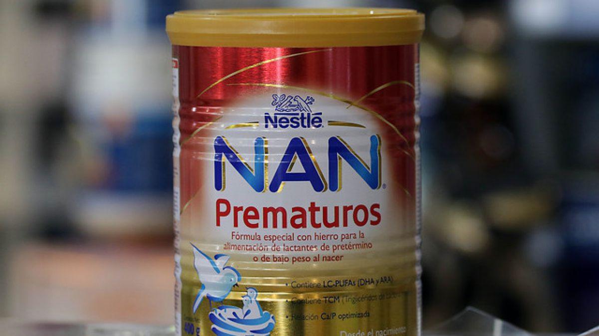 [VIDEO] Minsal anuncia bloqueo de distribución de productos NAN prematuros