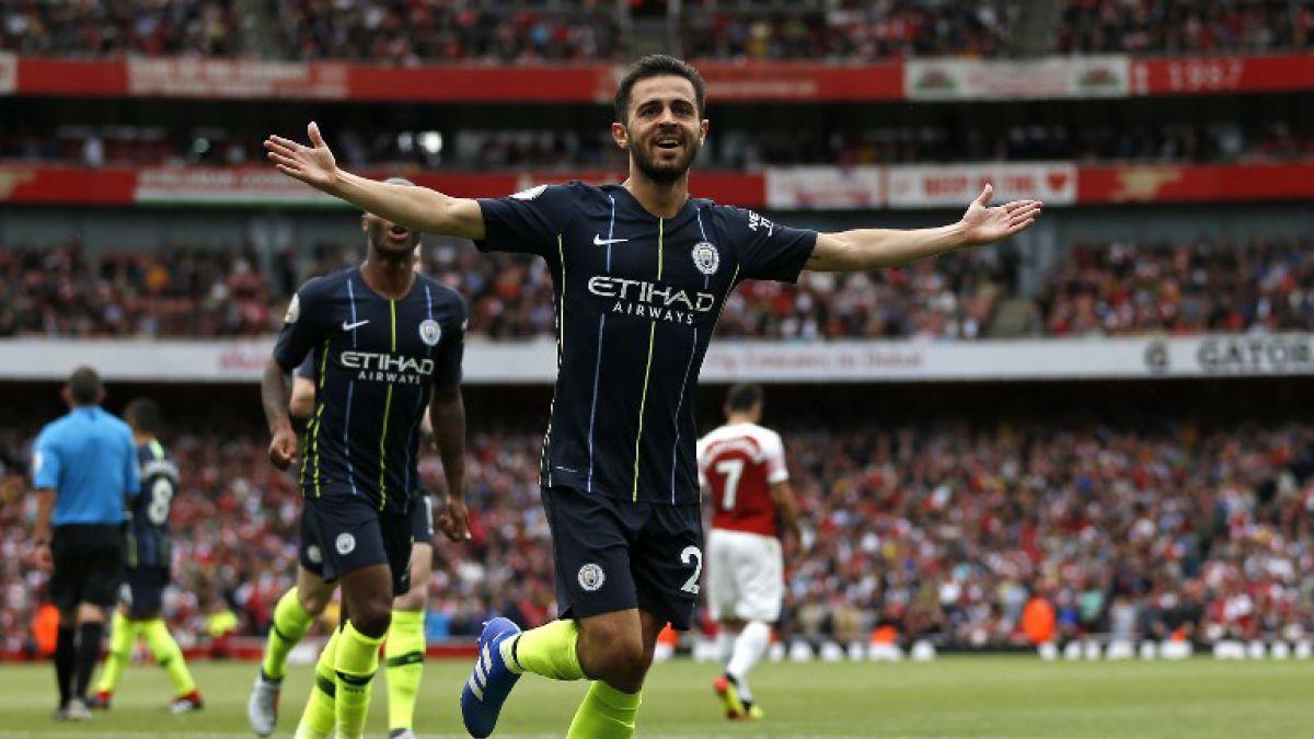 Con Bravo en la banca, Manchester City gana de visita al Arsenal en su debut en la Premier League