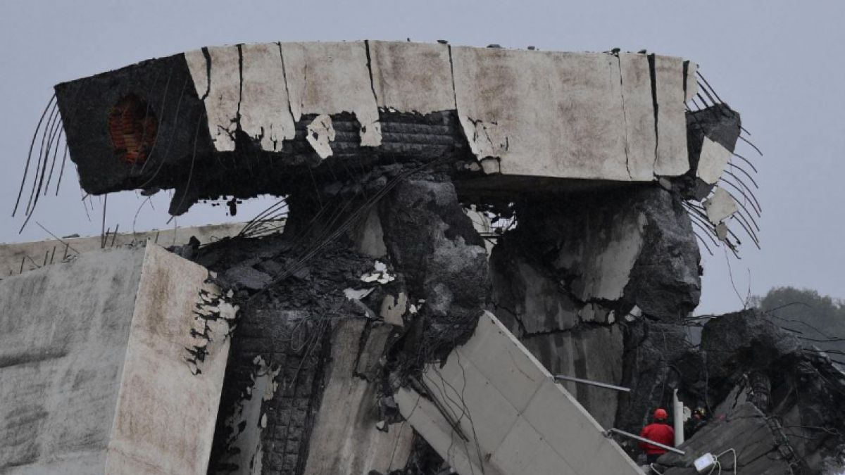 [VIDEO] Cancillería confirma muerte de tres chilenos por derrumbe de puente en Génova
