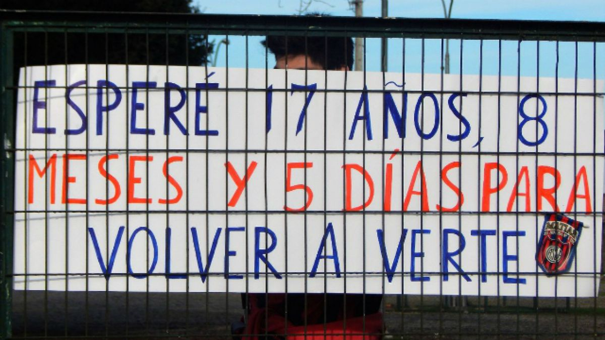 [FOTOS] La emotiva historia de un hincha de San Lorenzo que vive en Temuco