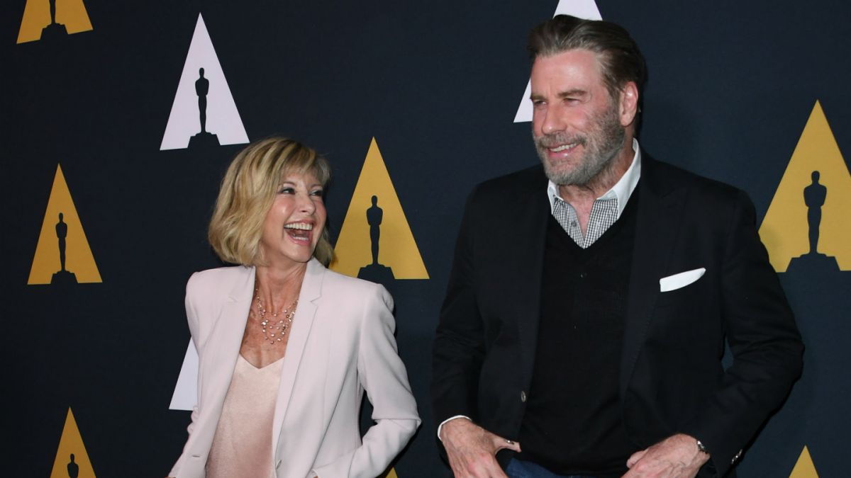 John Travolta y Olivia Newton celebran 40 años de 'Vaselina'