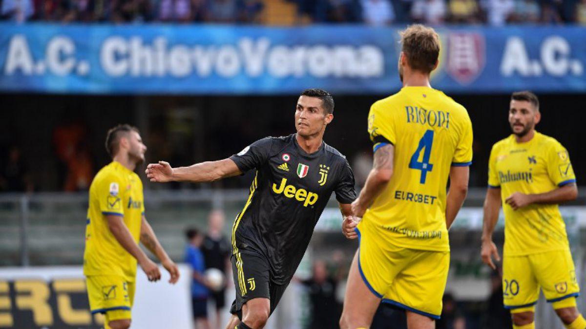 El primer gol de Cristiano con la camiseta de Juventus