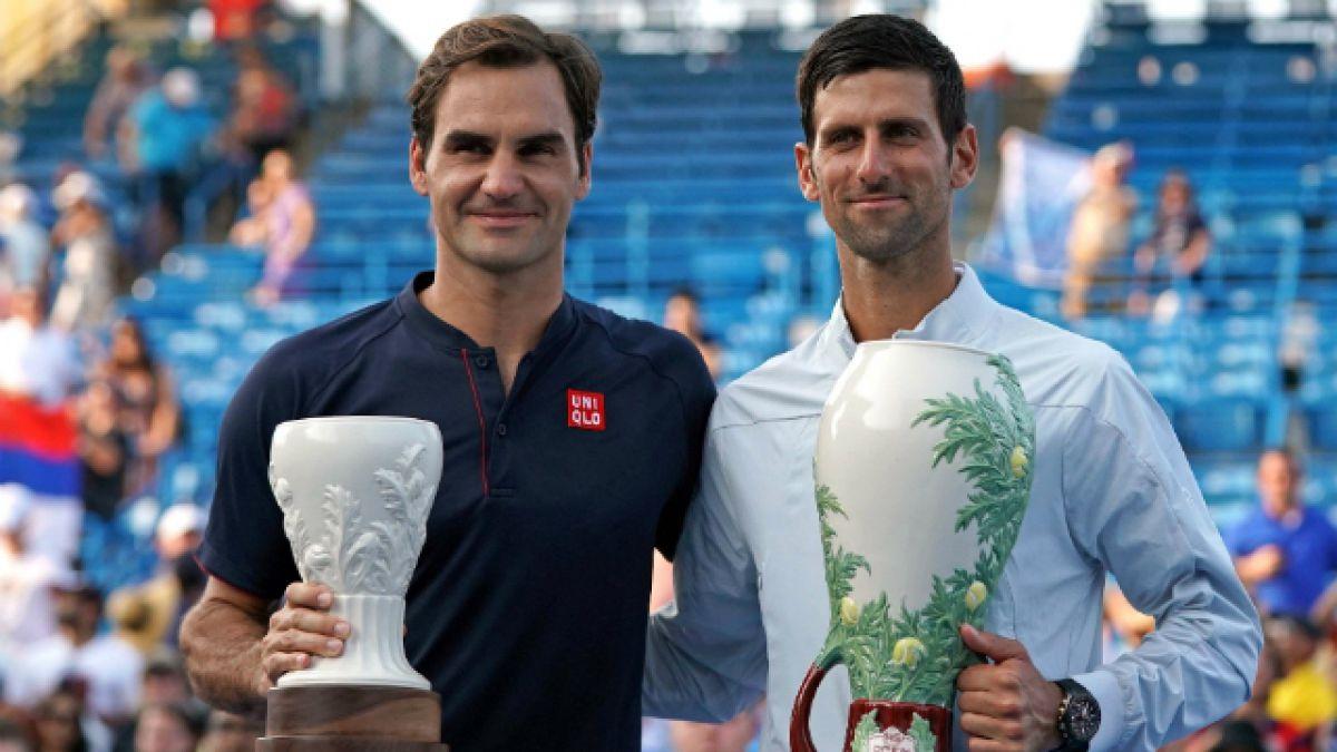 [VIDEO] La broma de Novak Djokovic a Roger Federer tras la final de Cincinnati