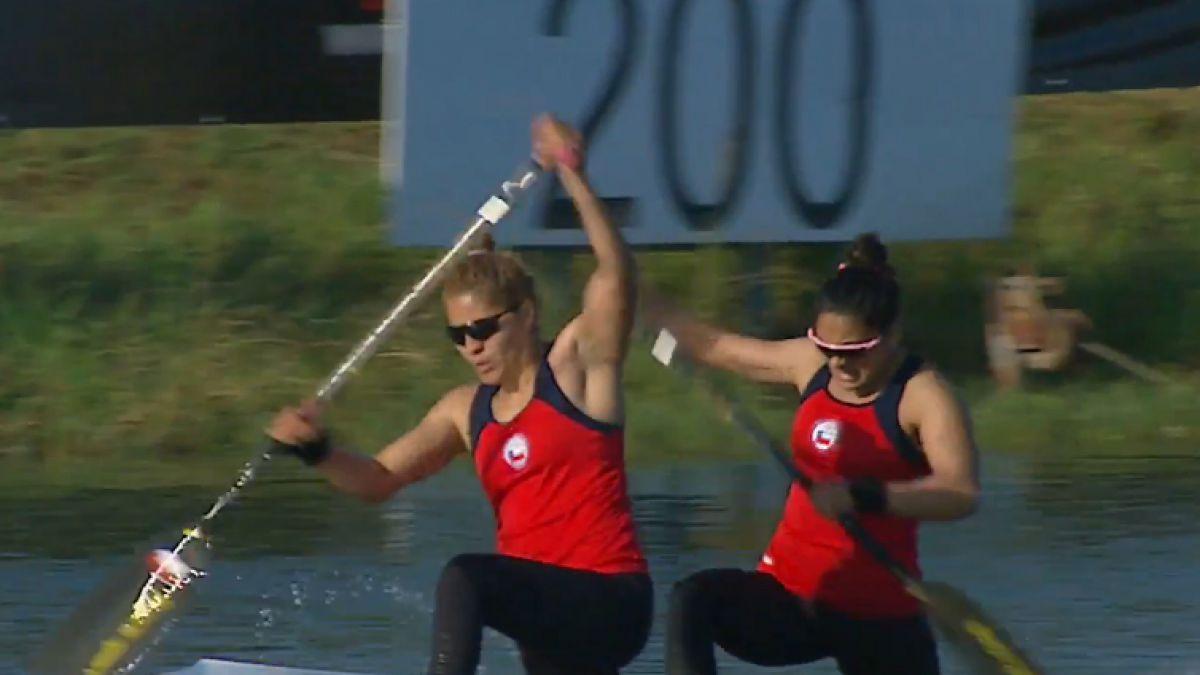 [VIDEO] Chilenas María José Mailliard y Karen Roco pasan a la final del Mundial de Canotaje