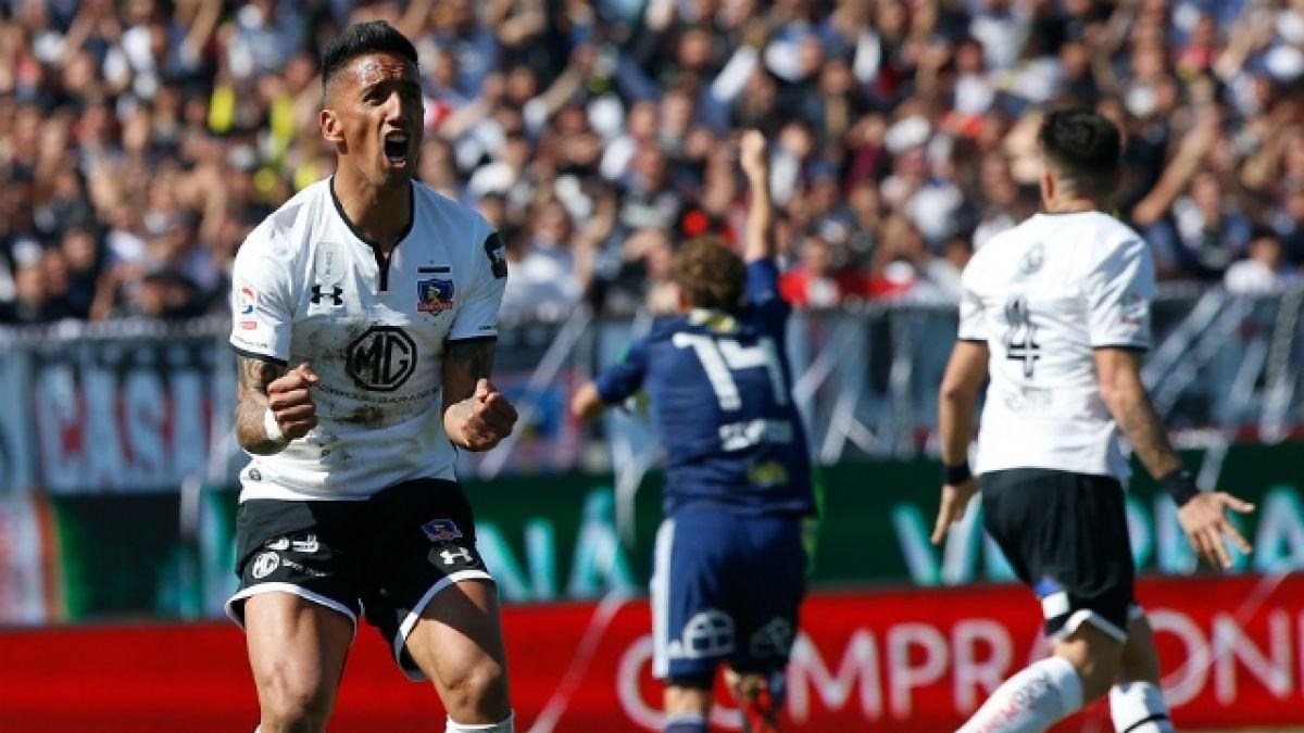 """Colo Colo vence por la cuenta mínima a la U y extiende la """"maldición"""" azul en el Monumental"""