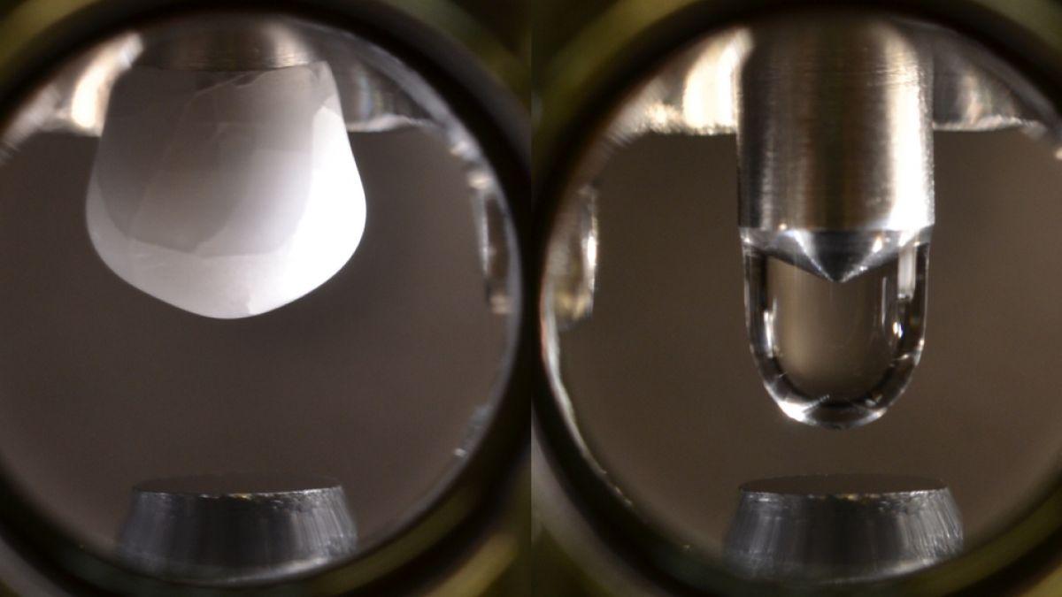 Científico logra crear la gota de agua más pura del mundo