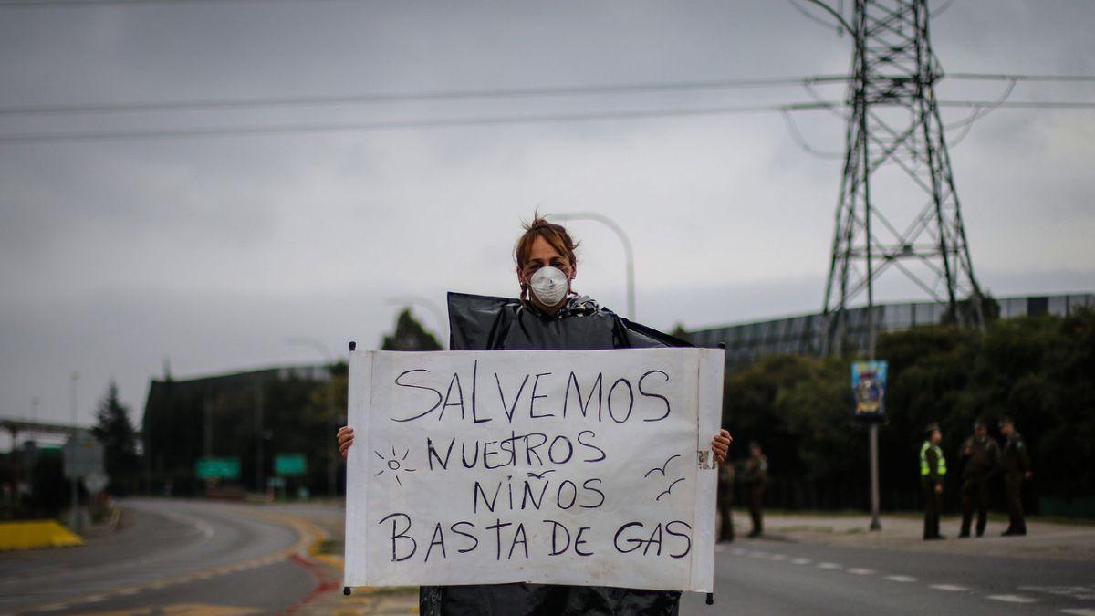 Nuevos colegios se suman a tomas en protesta por situación ambiental en Quintero